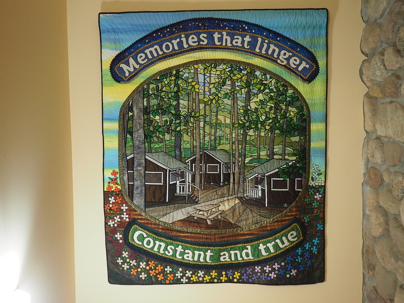 """Memories that Linger"", a Quilt for Camp Newaygo"